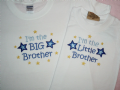 I'm the Big / Little Cousin T-shirt can be personalised boy or girl
